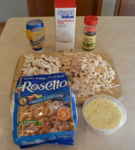 Chicken Tortellini Ingredients