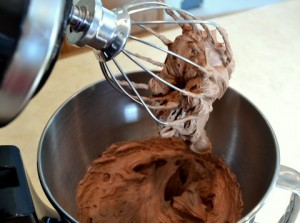 Whipped mixture