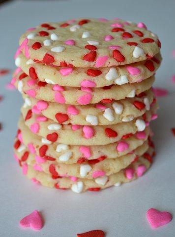 easy valentine's day cookies » stop lookin'. get cookin'., Ideas