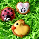 Ladybug, Duck and Bunny Pretzels
