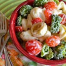 Pasta Salad Square
