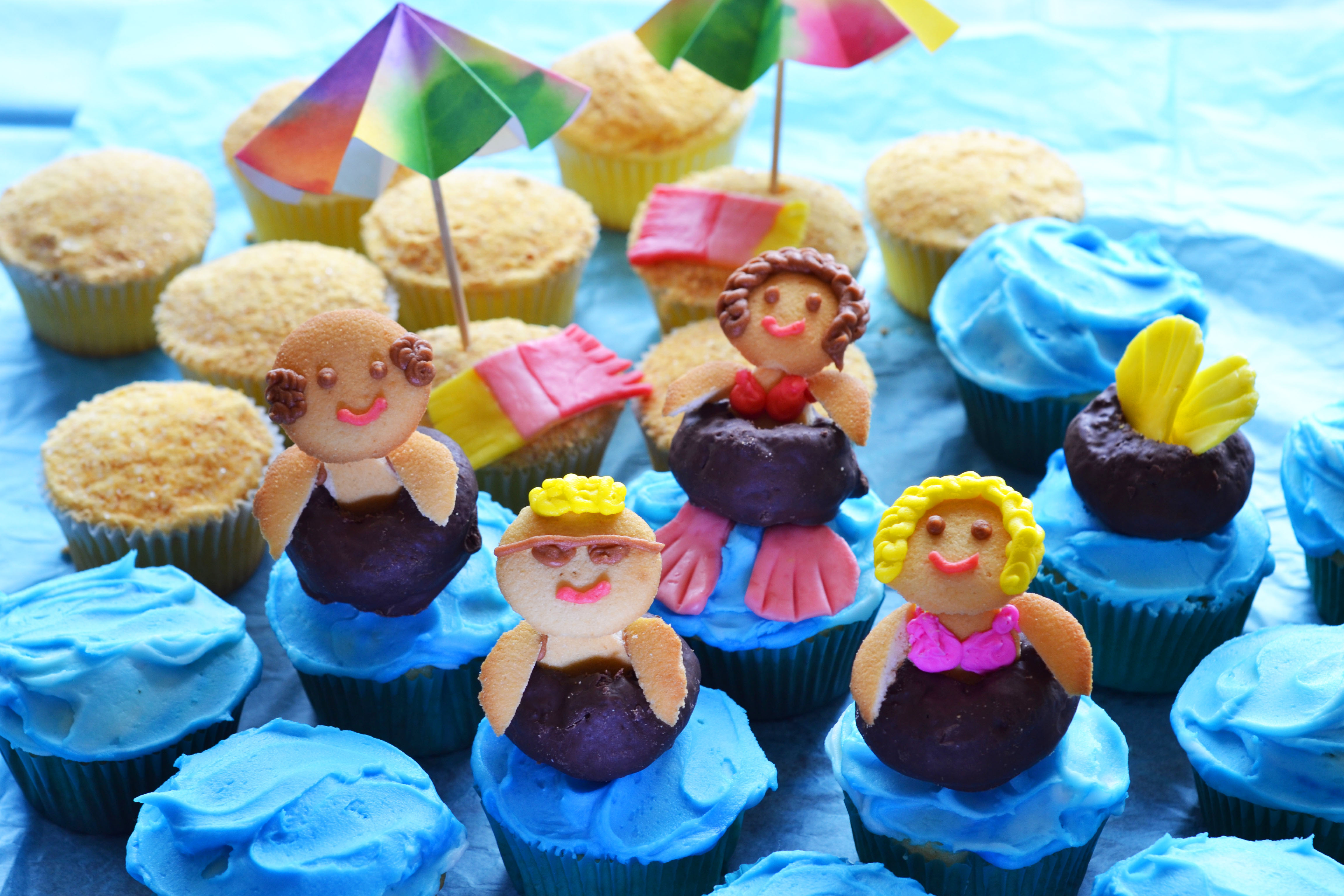 Summer cupcakes wide stop lookin 39 get cookin 39 for Craft party long island