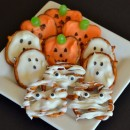 Halloween Pretzels