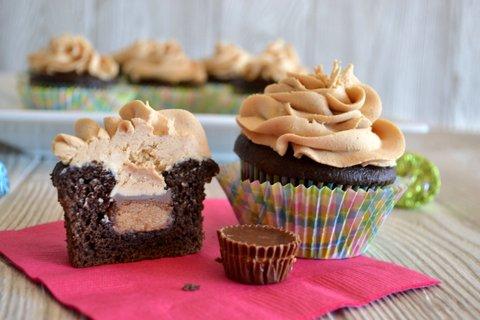 1. PB Cupcakes top photo