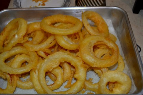 Onion Rings done