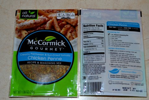 McCormick Packet