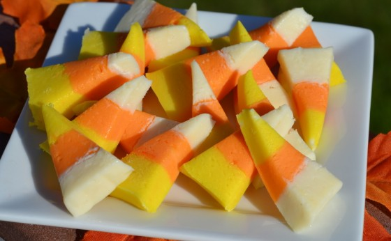candy corn fudge - Christmas Candy Corn