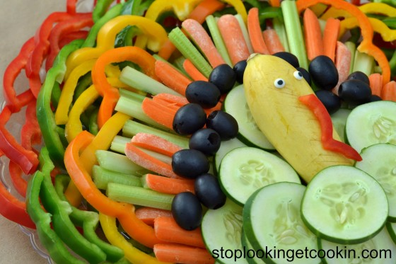 Turkey Vegetable Tray