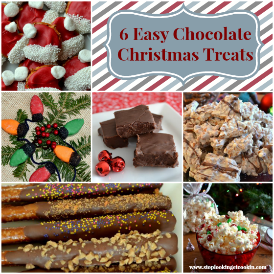 6 Easy Chocolate Christmas Treats