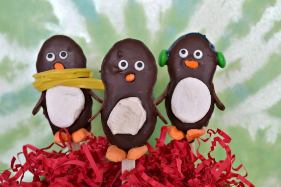 3 Nutterbutter Penguins w/Stop Lookin Get Cookin