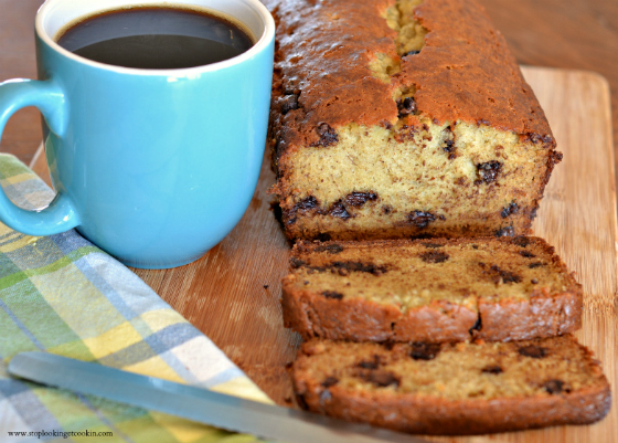 Chocolate Chip Banana Bread w/Stop Lookin' Get Cookin'