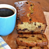Chocolate Chip Banana Bread w/Stop Lookiin' Get Cookin'