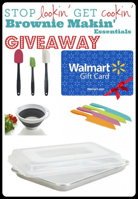 Brownie Makin' Essentials Giveaway