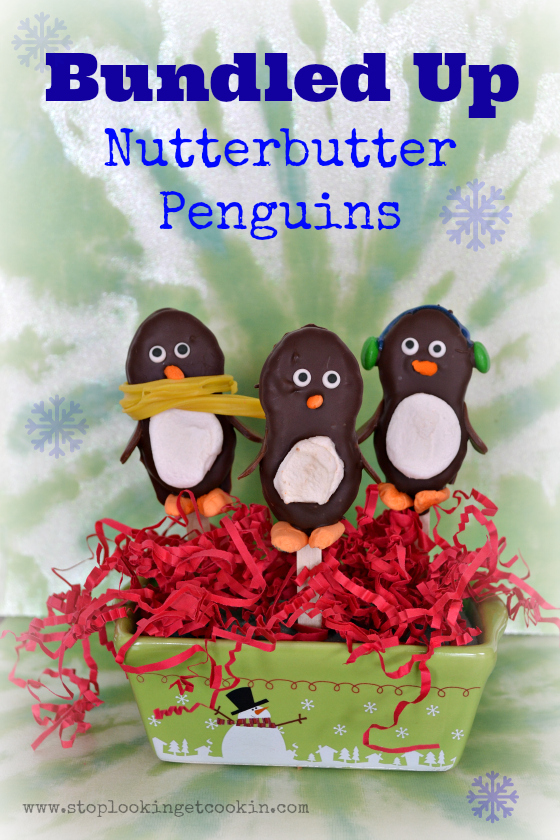 Bundled Up Nutterbutter Penguins