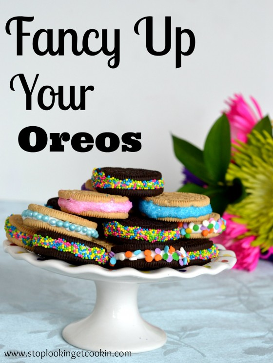 Fancy Up Your Oreo w/Stop Lookin' Get Cookin'