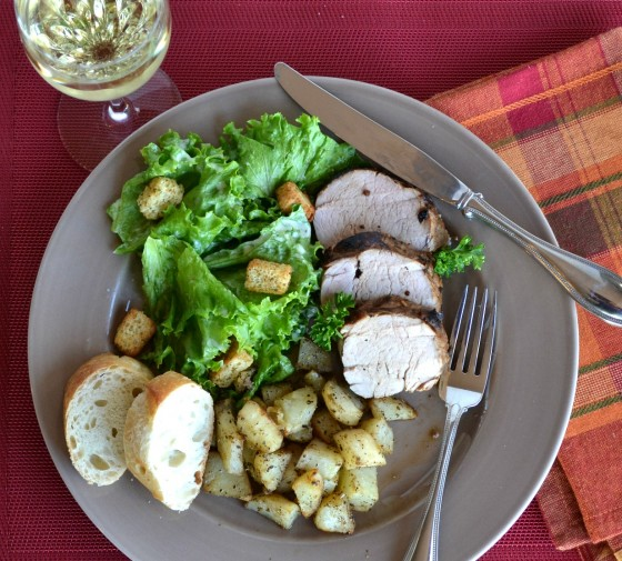 Marinated Pork Tenderloin | Stop Lookin' Get Cookin' | #PompeianVarietals