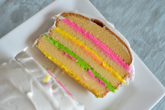 Colorful Spring Cake || Stop Lookin' Get Cookin'