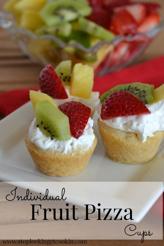 Fruit Pizza Cups Words