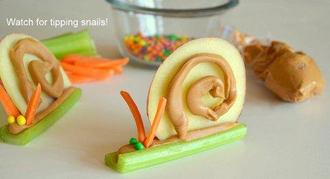 Fallen snail